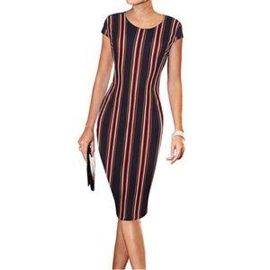 Casual Wear to Work Office Career Sheath Dress